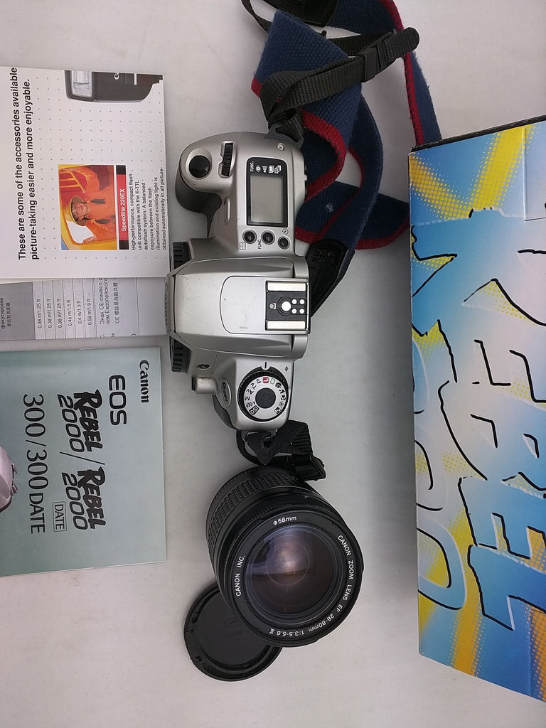 Canon EOS Rebel 2000 Kit 35mm SLR Camera with 28-80mm Lens (
