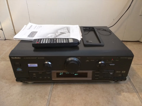Technics SA-DX1050 Stereo w/Remote Home Audio Video Radio Control Receiver TV DVD CD AM/FM DTS