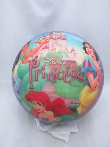 Disney Princesses LE 8.65 LB Bowling Ball Cinderella Snow White Ariel VIZ-A-BALL Pre-owned Drilled