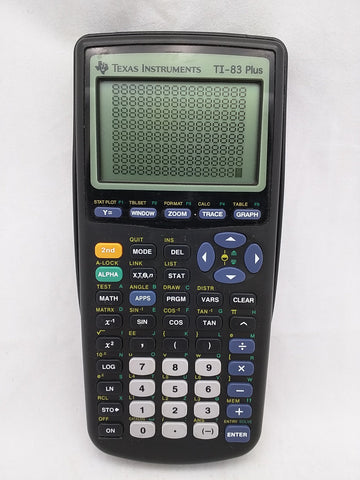 Texas Instruments TI-83 Plus Graphing Calculator - Working, Perfect Screen