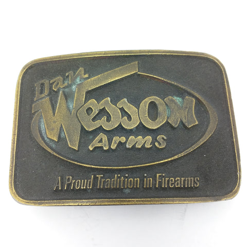 Dan Wesson Arms A Proud Tradition in Firearms Belt Buckle Vintage