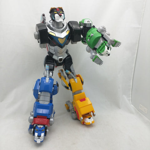 Combinable Sound Light Voltron Legendary Defender Lions DWA 2017 Playmates Blue Green Yellow