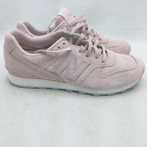 7.5 New Womens New Balance NB 696 Faded Rose Pink Running Shoes WL696WPP Lace Up