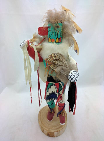 "13"" Early Morning Singer Native American Indian Kachina Dancer Doll SIGNED Walthall Navaho VTG"