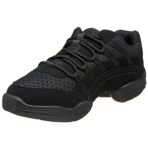 9.5 Black Capezio Women's Rockit Dancesneaker