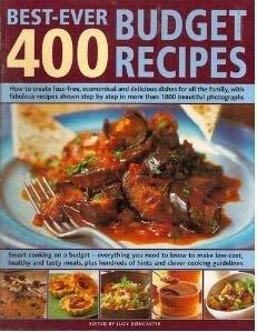 400 Best-Ever Budget Recipes by Doncaster, Lucy -- (editor) [Paperback] Doncaste
