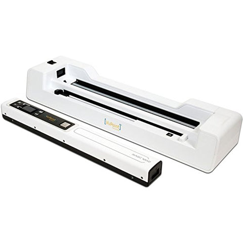 VuPoint Magic Wand Portable Scanner with Auto-Feed Dock (White) Portable