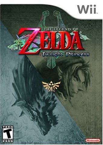 Wii The Legend of Zelda: Twilight Princess Nintendo video game complete