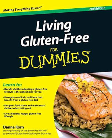 Living Gluten-Free For Dummies [Paperback] Korn, Danna