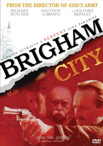 Brigham City DVD 2002 Wilford Brimley Richard Dutcher Rare/OOP LDS Mormon Utah Crime Thriller Suspense