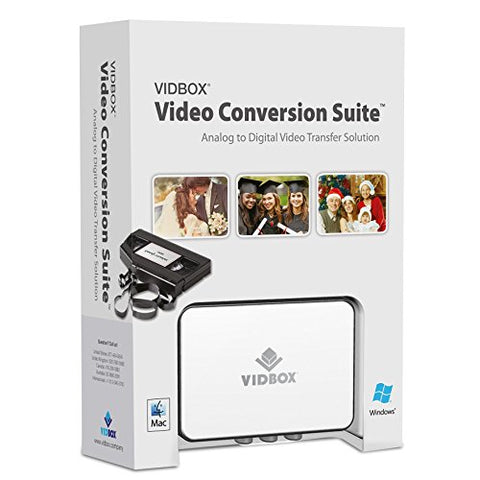honestech VIDBOX Video Conversion Suite 2.0 Analog to Digital Transfer Solution