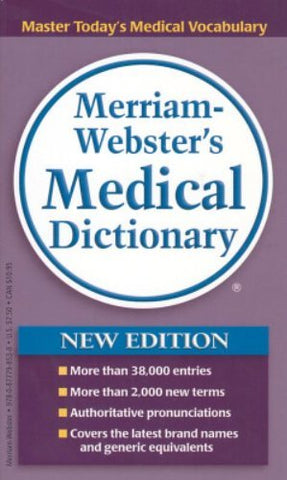 [[Author:Merriam-Webster]] [[Edition:New]] [[ISBN-10:0877798532]] [[Condition:Used; Good]] [[binding:Mass Market Paperback]] [[Format:Mass Market Paperback]] [[brand:Spring Arbor/Ingram]] [[manufacturer:Merriam Webster Mass Market]] [[number_of_pages:833]] [[part_number:9780877798538]] [[mpn:9780877798538]] [[publication_date:2006-09-01]]