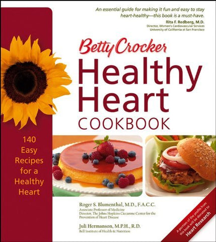 Betty Crocker Healthy Heart Cookbook (Betty Crocker Cooking) Blumenthal, Roger S