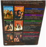 Bible Collection, 6 DVD Set Moses Samson Abraham Joseph Jacob David