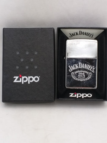 Jack Daniels Old Number 7 brand Zippo lighter boxed