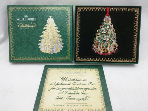 White House 2008 Christmas Ornament Historical Association Tree Boxed The VCG