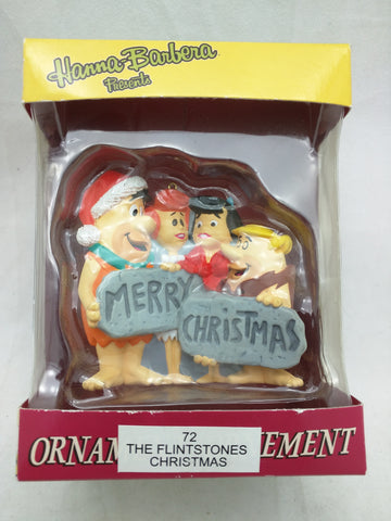 Hanna-Barbera Flintstones Merry Christmas Ornament American Greetings 3 Inch