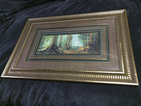 Sacred Grove Signed Greg Olsen Signature Edition Print 37x25 Framed