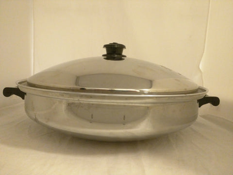 Saladmaster Five Star Wok TP304S Pan Cookware