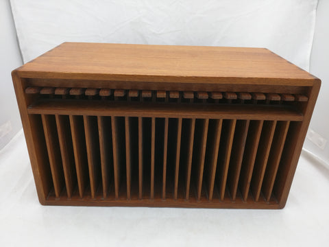 Kalmar Teak Wood CD Holder Dispenser Designs