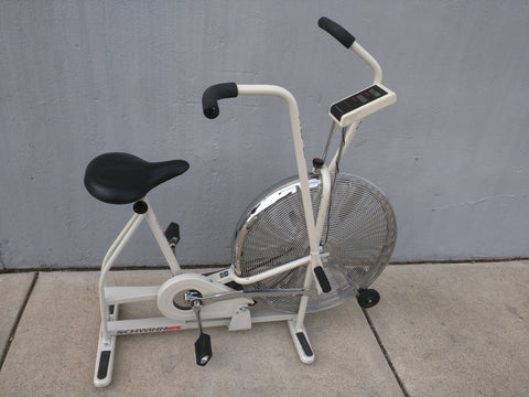 Schwinn Airdyne Exercise Bike stationary dual action White wind fan