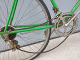 Schwinn Varsity Bike Bicycle Green Vintage Ideale 61 Saddle Road