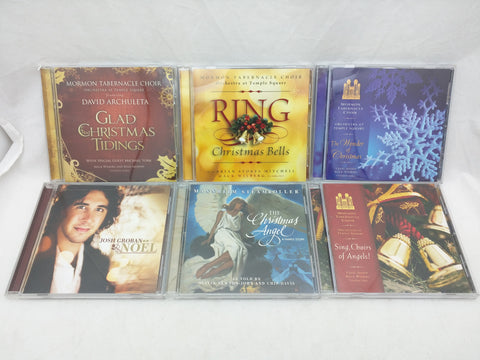 6 Christmas CD Mormon Tabernacle Choir LDS David Archuleta Groban