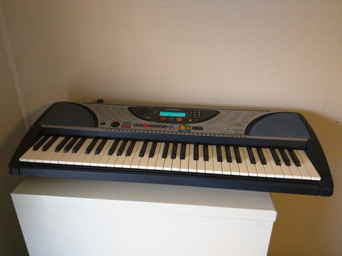 Yamaha PSR-240 keyboard electronic piano working AS-IS Touch Sensitive