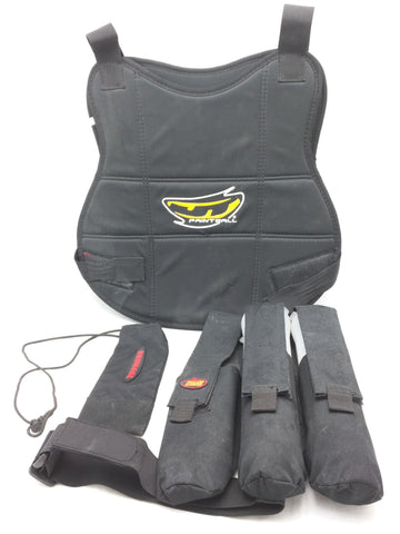 Paintball Vest Redz Ammo Pouch Tippmann Barrel Cover