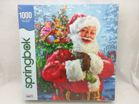 New Santa Springbok Puzzle Sealed
