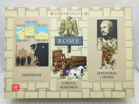 GMT Rome Game BoardGame Reiner Knizia 0108 2001
