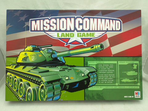 Mission Command Land Game Milton Bradley BoardGame Tanks