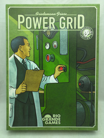 Power Grid Rio Grande Game Friedmann Friese BoardGame
