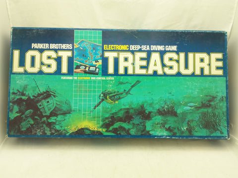 Lost Treasure Game Parker Brothers Electronic Deep Sea Diving BoardGame 4070