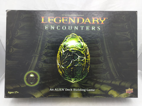 Legendary Encounters Alien Upper Deck Building Game Card
