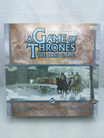 New A Game of Thrones Card Game George Martin 2012 Fantasy Flight