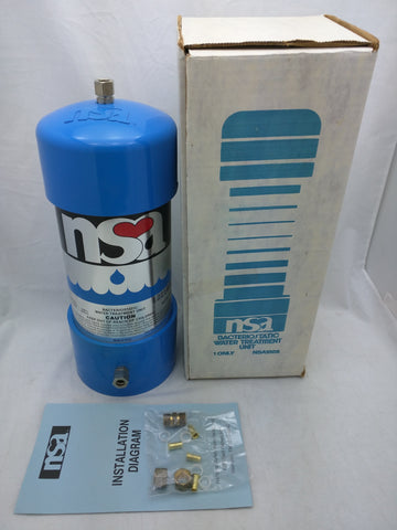 NSA 100S Filter Bacteriostatic Water Treatment Unit