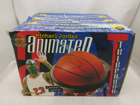 Michael Jordan Animated Telephone Basketball Limited Edition Telemania Replica Signature Tone Pulse