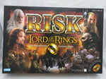 Risk Lord of the Rings Game Boardgame Hasbro Parker Brothers Middle Earth 2002