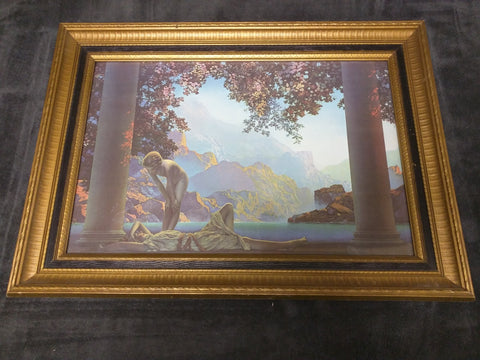 Daybreak Maxfield Parrish Print Framed