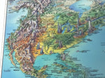 The World Map Don Mills Unique Media Poster Print Illustrated