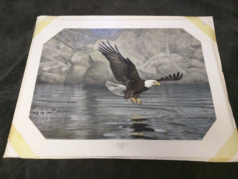 First Strike American Eagle Charles Frace Signed Numbered Print Limited Edition