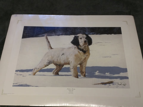 Mistaken Identity English Setter Phillip Crowe Print Signed Numbered Limited Edition