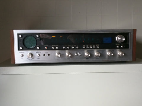 Pioneer QX-949 Stereo Receiver Radio Tuner Amp Wood Grain 4 Channel Vintage