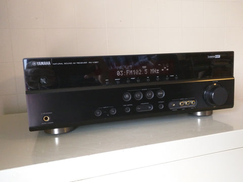 Yamaha RX-V367 Stereo AV Receiver Tuner Working Natural Sound HDMI