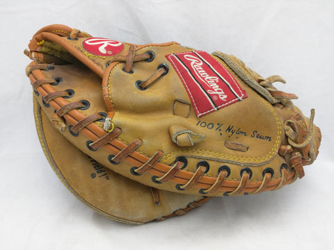 RCM 45 Mike Piazza Rawlings Catcher Baseball Glove Mitt Vintage