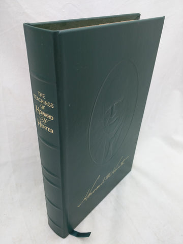Leather The Teachings of Howard W. Hunter Book LDS Mormon