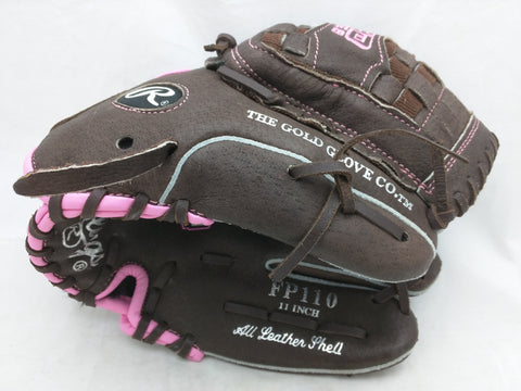 "FP110 11"" Fastpitch Softball Rawlings Baseball Glove Mitt"