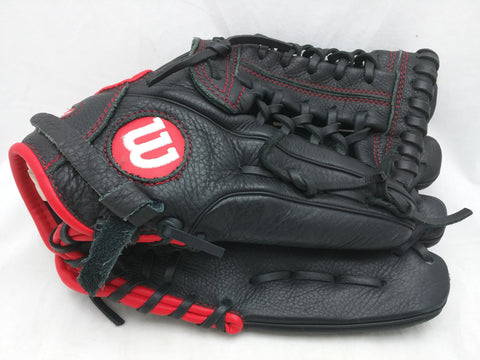 "A500 12"" Black Wilson Baseball Glove Mitt A05RB1612"