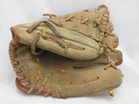 GJ 99 Mickey Mantle Rawlings Baseball Glove Mitt Vintage